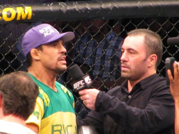 Vitor in his UFC return at UFC 103
