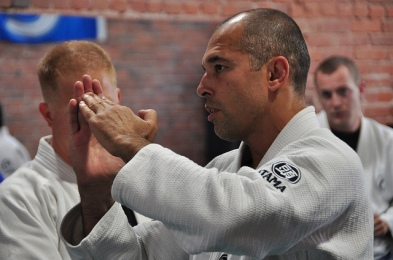 Royce Gracie - photo via Peter Gordon